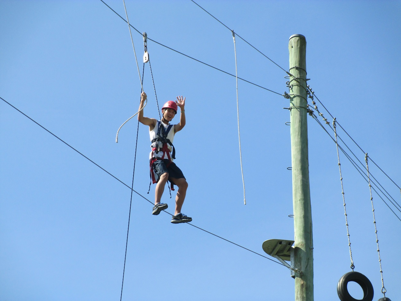 Harry Wong and High Ropes at Berry Camp